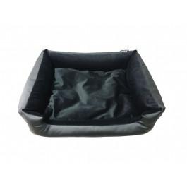 DOGIDIGI atviras gultas šunims - juodas, eko oda