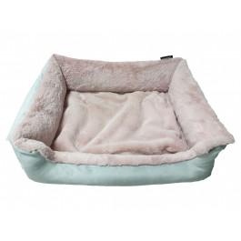 DOGIDIGI atviras gultas šunims - rausvas, minkštas mikropluoštas