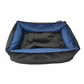 DOGIDIGI uždaras gultas šunims - mėlynas/juodas