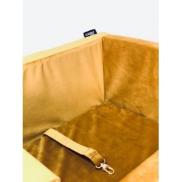 DOGIDIGI automobilio gultas šunims - geltonas