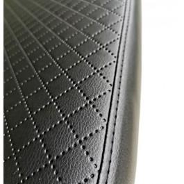 Afik Eko Basic čiužinys šunims - juodas, eko oda (dygsniuota)
