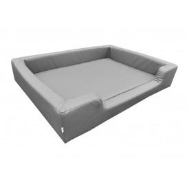 Filipek Eko oda, dygsniuotas gultas šunims - pilkas