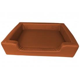 Filipek Eko oda, dygsniuotas gultas šunims - rudas, soft