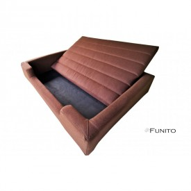 Filipek Line gultas šunims - rudas