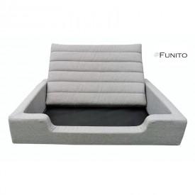 Filipek Line gultas šunims - šviesiai pilkas
