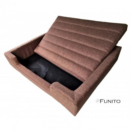 Filipek Line gultas šunims - šviesiai rudas