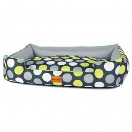 Halka Life Boo gultas šunims - žali taškai