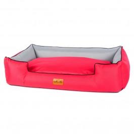 Halka Life Boo gultas šunims - raudonas