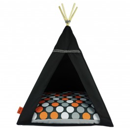 Glamour Teepee namelis-palapinė – Orange Dots