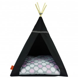Glamour Teepee namelis-palapinė – Pink Dots
