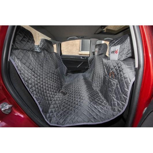 Automobilio sėdynių užtiesalas šunims (pilkas) Užtiesalai automobiliui
