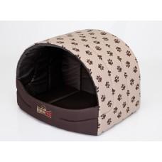 Ovali būdelė šunims (60 cm x 49 cm) + pagalvėlė DOVANŲ
