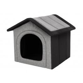 Būdelė šunims Inari - juoda/pilka