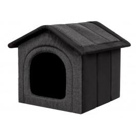 Būdelė šunims Inari - juoda/grafito
