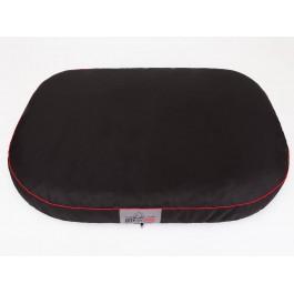 Ovalus čiužinys šunims juodas