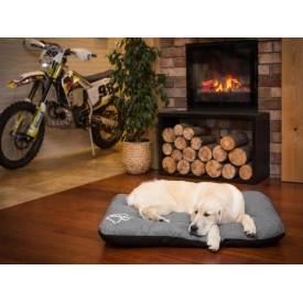 Čiužinys šunims Eco Prestige - tamsiai pilkas - Ekolen audinys