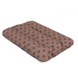 Čiužinys šunims Eco Prestige - šviesiai rudas su pėdutėmis