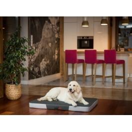 Premium čiužinys šunims (tamsiai pilkas/šviesiai pilka Ekolen)
