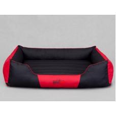 Cordura Comfort guolis šunims juodas ir raudonas
