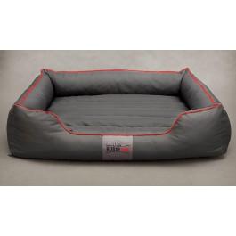 Cordura Comfort guolis šunims pilkas su raudona juostele