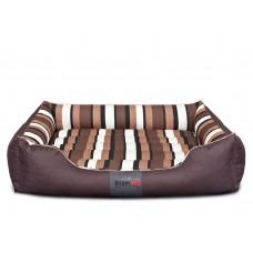 Cordura Comfort guolis šunims rudas su juostomis