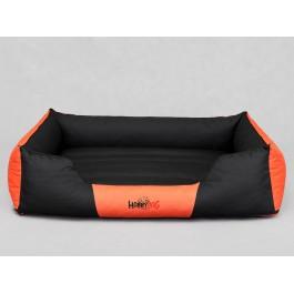 Cordura Comfort guolis šunims juodas ir oranžinis