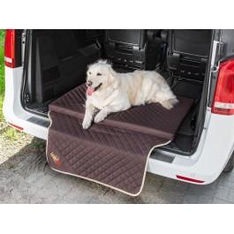 """Šuns gultas automobilio bagažinei """"Light Trunk"""" (tamsiai rudas)"""