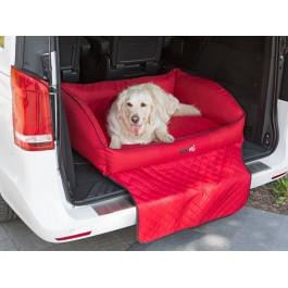 """Šuns gultas automobilio bagažinei """"Royal Trunk"""" (raudonas)"""