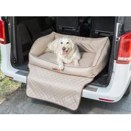 """Šuns gultas automobilio bagažinei """"Royal Trunk"""" (rausvai gelsvas)"""