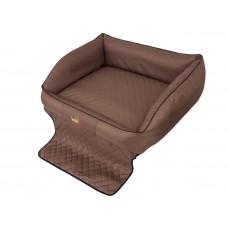 """Šuns gultas automobilio bagažinei """"Royal Trunk"""" (šviesiai rudas)"""
