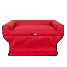 """Šuns gultas automobilio bagažinei """"Viki Trunk"""" (raudonas)"""