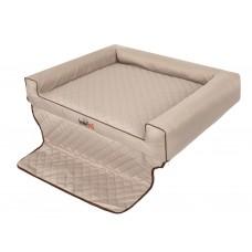 """Šuns gultas automobilio bagažinei """"Viki Trunk"""" (rausvai gelsvas)"""