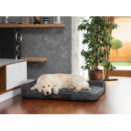 Best gultas šunims - juodas, Ekolen audinys
