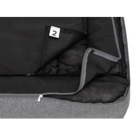 Best gultas šunims - tamsiai pilkas, Ekolen audinys