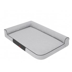 Best gultas šunims - pilkas, Ekolen audinys