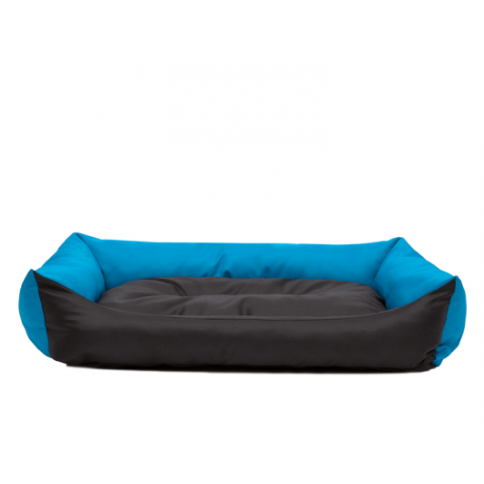 Eco guolis šunims - juodas/mėlynas Eco guoliai šunims