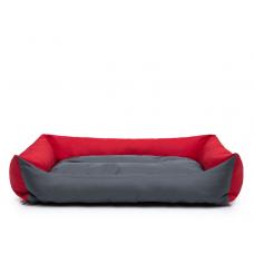 Eco guolis šunims - pilkas/raudonas