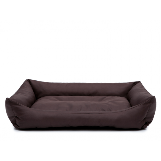 Eco guolis šunims - tamsiai rudas, dydis XL (82 x 60 x 16cm) - [IŠPARDAVIMAS]