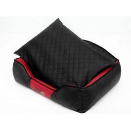 Hobby Dog Elite guolis šunims juodas su raudonais šonais (eco oda)