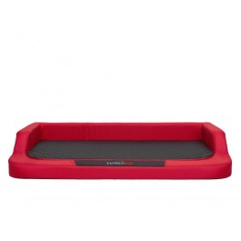 Medico standard guolis šunims raudonas su juodu čiužiniu