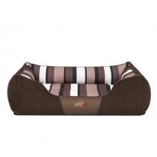 Hobby Dog Nice gultas šunims - tamsiai rudas su juostelėmis