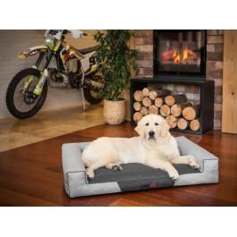 Hobby Dog Victoria guolis šunims - šviesiai pilkas - Ekolen audinys