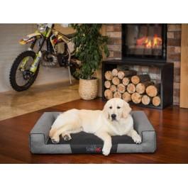 Hobby Dog Victoria guolis šunims - pilkas - Ekolen audinys