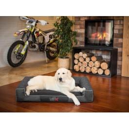 Hobby Dog Victoria guolis šunims - juodas - Ekolen audinys