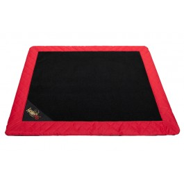 Exclusive kilimėlis šunims juodas (raudonais šonais)