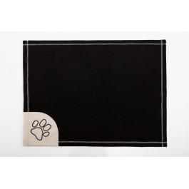 Antklodė šunims juoda