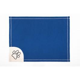Antklodė šunims mėlyna