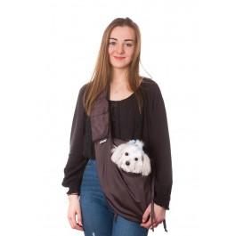 Kelioninis krepšys šunims Juliette, ruda spalva