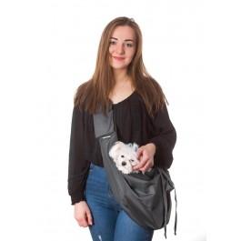 Kelioninis krepšys šunims Juliette, grafito spalva
