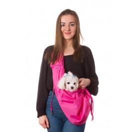 Kelioninis krepšys šunims Juliette, rožynė spalva